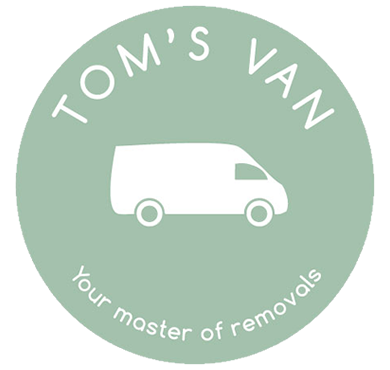 Tom's Van - Your Man with a Van - Logo